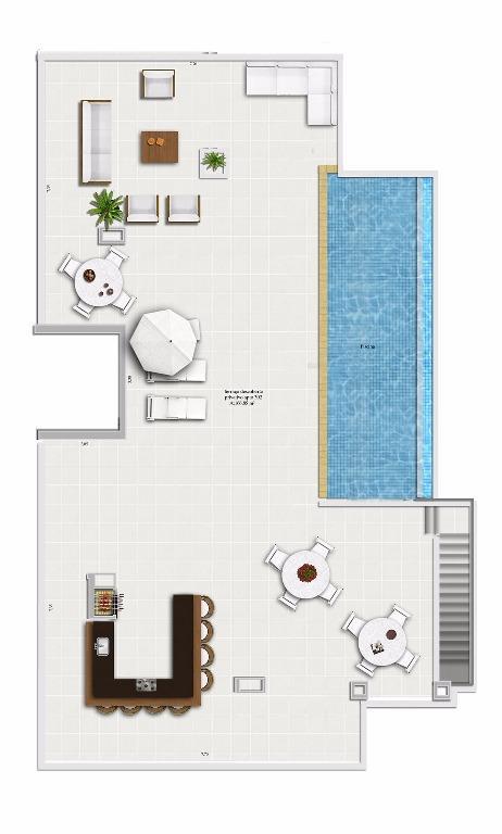Apartamento Garden de 3 dormitórios em Vila Assunção, Porto Alegre - RS