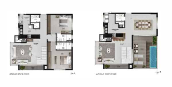 Apartamento de 2 dormitórios em Bela Vista, Porto Alegre - RS