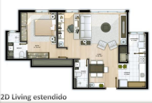 Cobertura de 3 dormitórios em Camaquã, Porto Alegre - RS