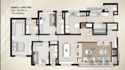 Apartamento de 4 dormitórios em Floresta, Porto Alegre - RS
