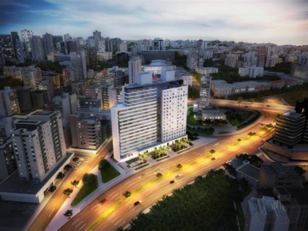 Flat de 1 dormitório em Cidade Baixa, Porto Alegre - RS