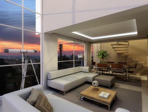 Apartamento Duplex de 2 dormitórios em Petrópolis, Porto Alegre - RS