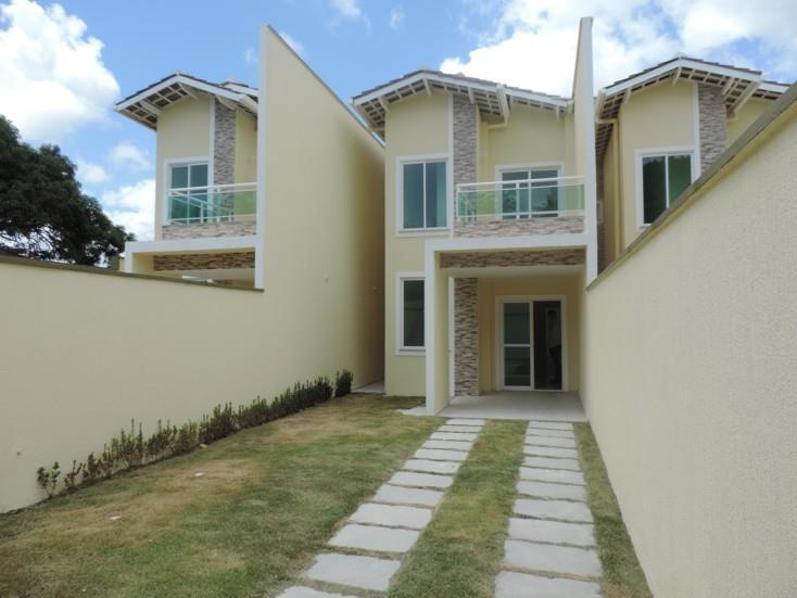 Casa duplex à venda com 03 suítes, em Eusébio-CE