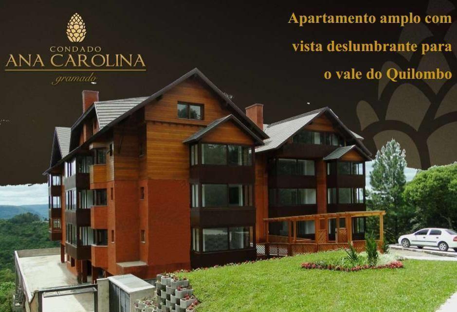 Apartamento de 3 dormitórios em Lago Negro, Gramado - RS