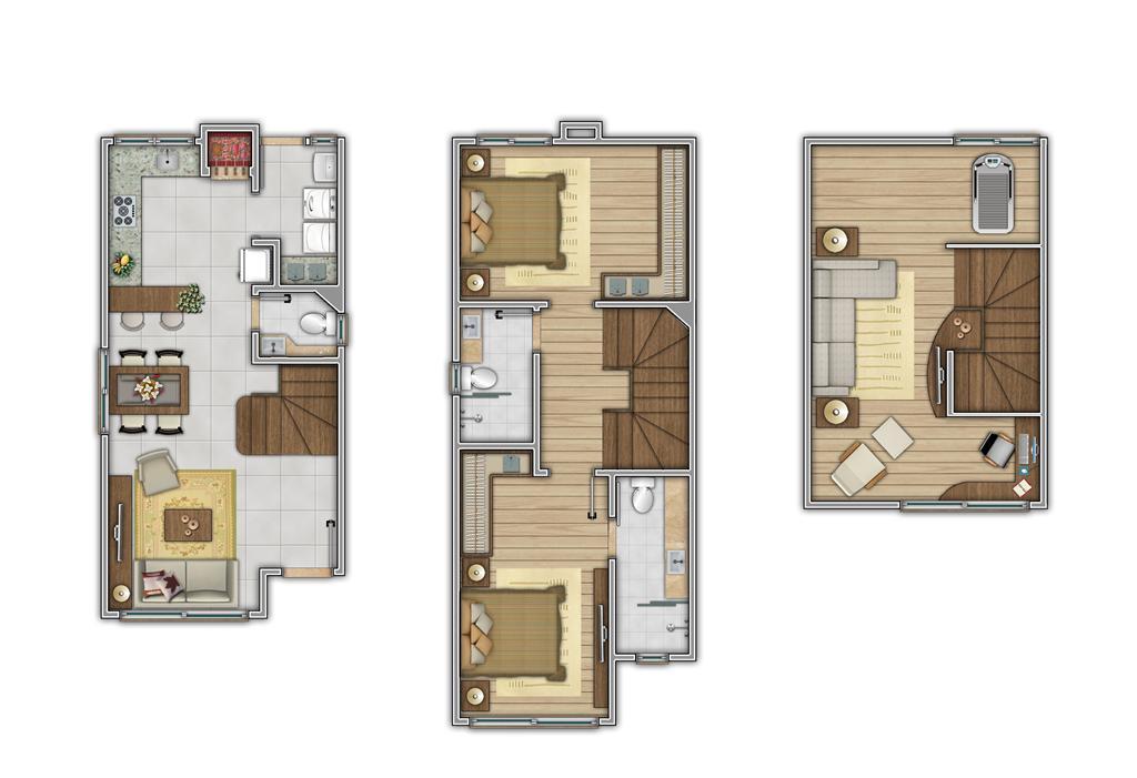 Casa de 2 dormitórios à venda em Jardim Hortência, Canela - RS