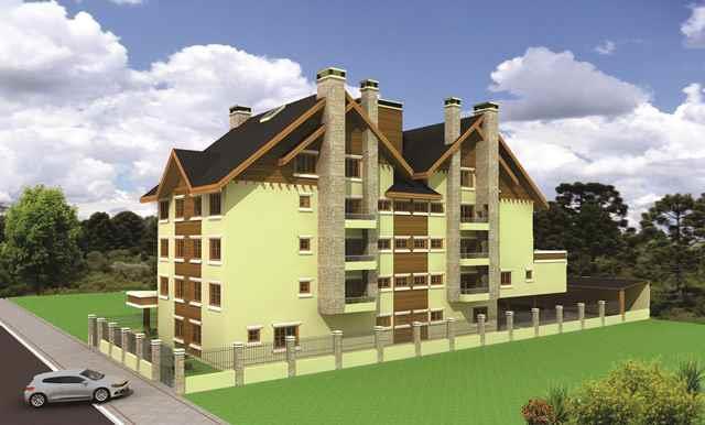 Apartamento de 3 dormitórios em Centro, Canela - RS