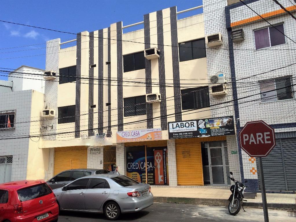 Sala comercial para locação, São Francisco, São Luís.
