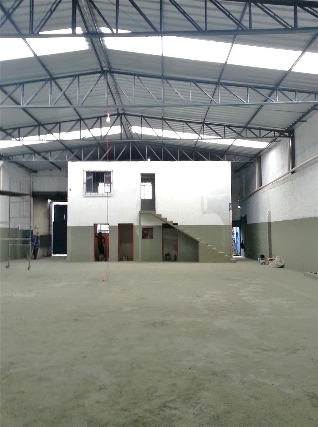 Galpão comercial para locação, Serraria, Diadema.