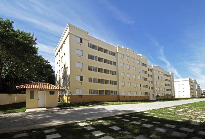 Excelente Apartamento térreo em condomínio fechado. Aceitando financiamento!