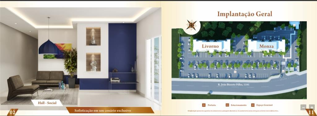 Apartamento com 2 dormitórios à venda, 47 m² por R$ 215.000 - Jardim Nova Palmares - Valinhos/SP