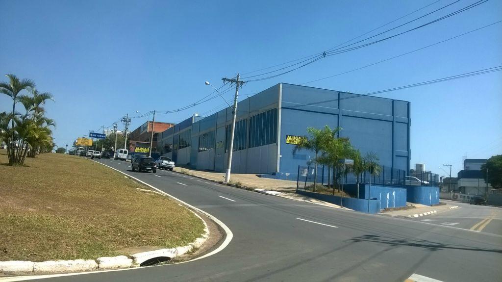 Galpão comercial para locação, Jardim Santa Rosa, Vinhedo.