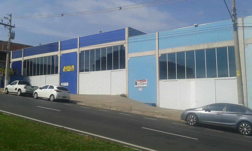 Galpão comercial para locação, Jardim São Matheus, Vinhedo.