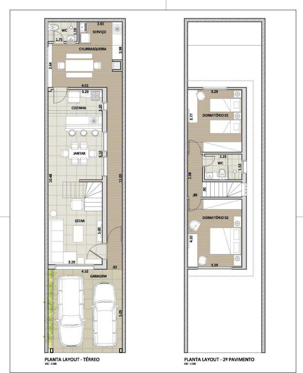 Casa de 2 dormitórios em Vila Santa Luzia, São Bernardo Do Campo - SP