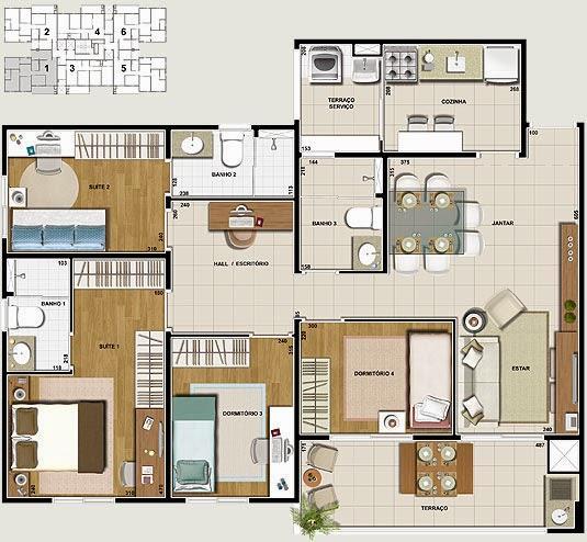 Apartamento de 4 dormitórios à venda em Vila Monumento, São Paulo - SP