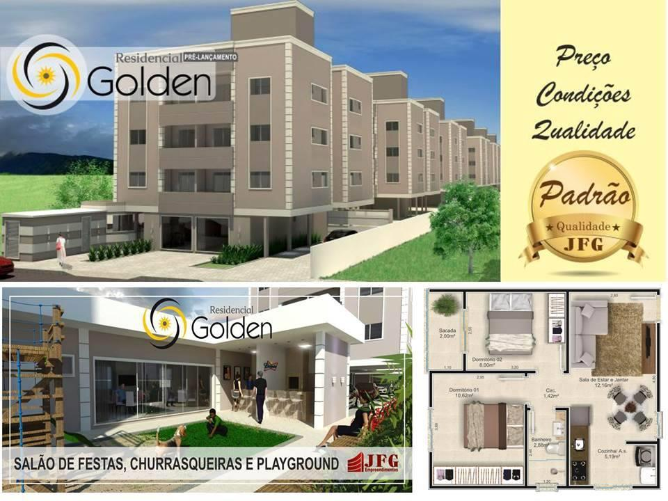 Apartamento  residencial à venda, Joaia, Tijucas.