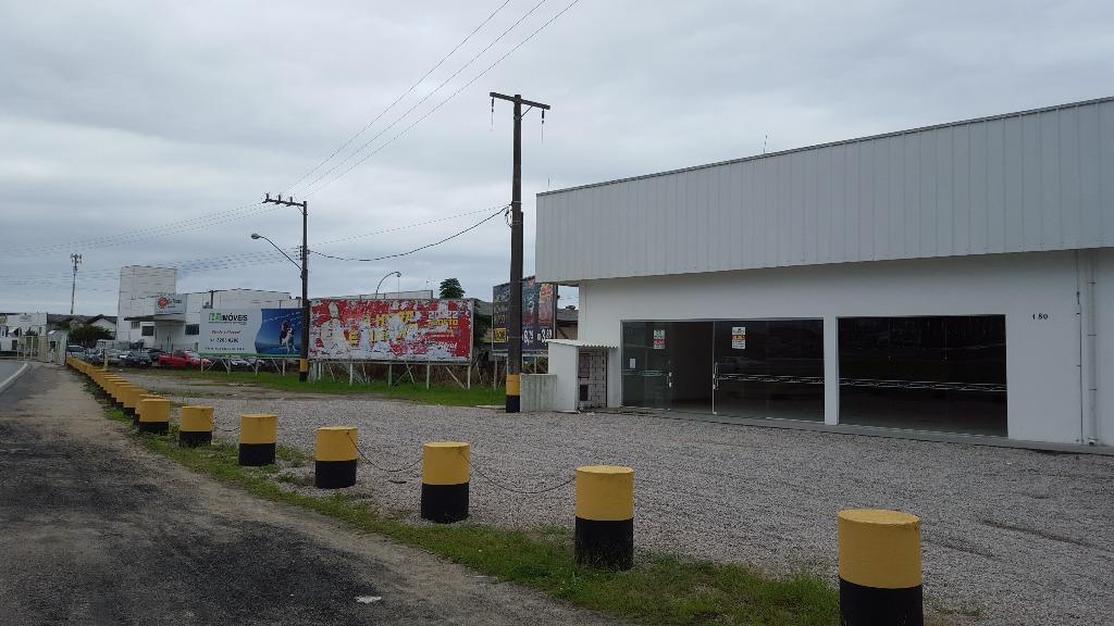 Galpão comercial para locação, 520M², Centro, Tijucas.