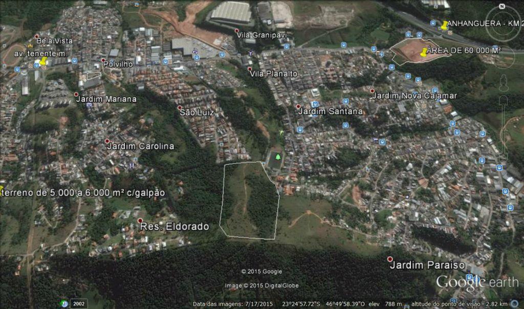 Área em Polvilho, Cajamar - SP