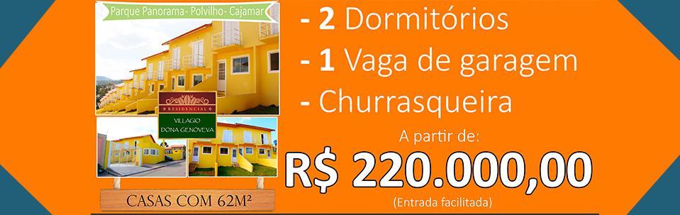 Casa de 2 dormitórios à venda em Aldeia Do Sol (Polvilho), Cajamar - SP