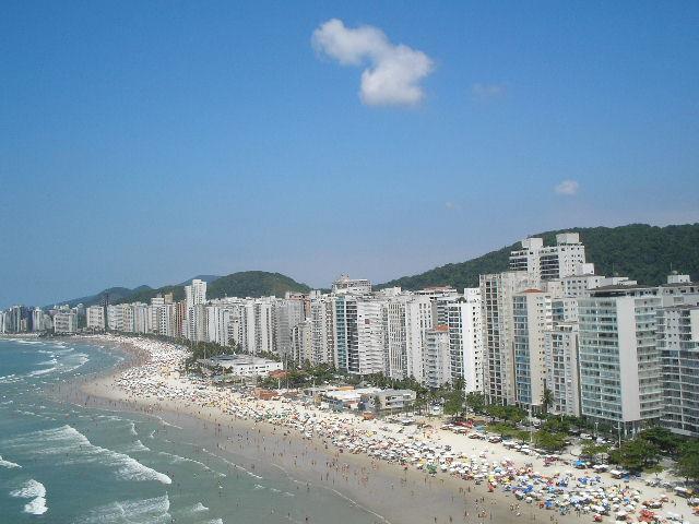 Maravilhosa cobertura de frente para o Mar ( Guarujá )