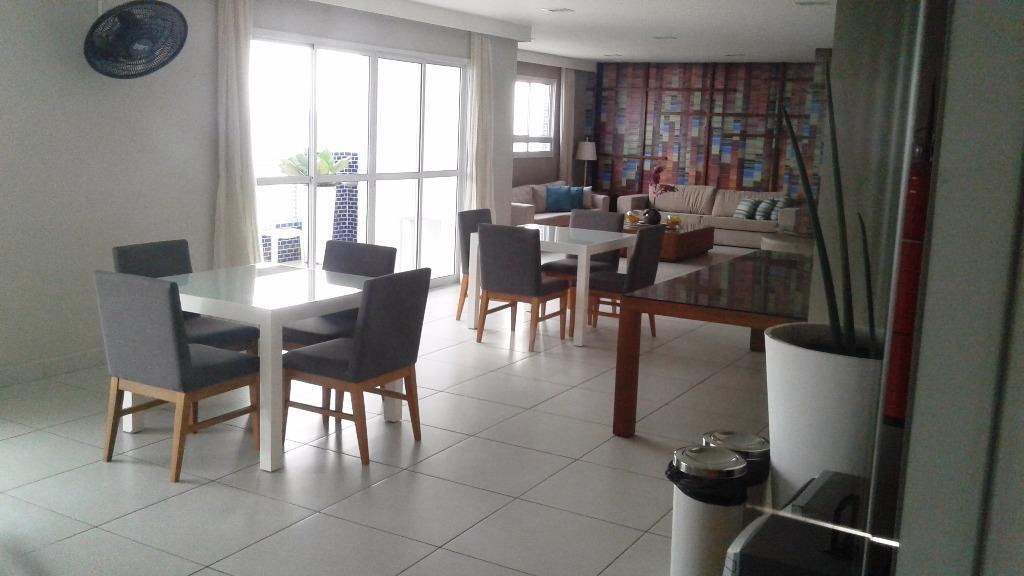 Apartamento 2 dormitórios 1 suite à venda, Itararé, São Vice de Vetter Consultores de Imóveis.'