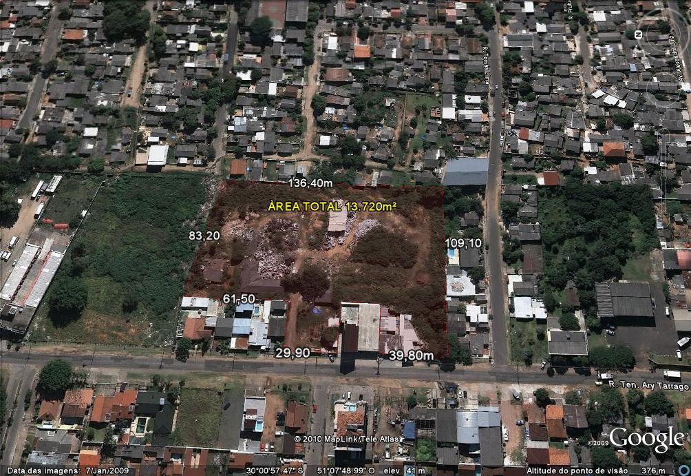 Área à venda em Protásio Alves, Porto Alegre - RS