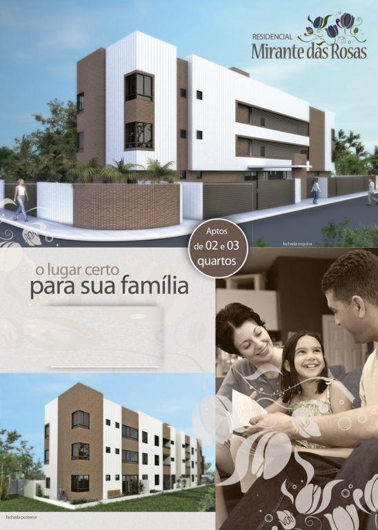 Apartamento residencial à venda, Bancários, João Pessoa - AP3341.