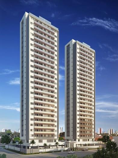 Apartamento com 3 dormitórios à venda, 80 m² por R$ 420.000 - Bessa - João Pessoa/PB