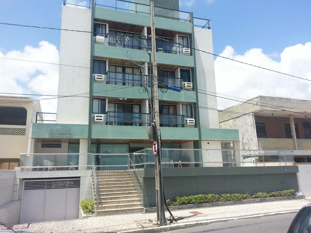 Apartamento com 1 dormitório para alugar, 50 m² por R$ 1.050,00 - Manaíra - João Pessoa/PB