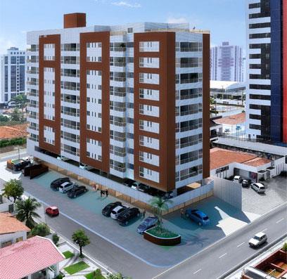 Apartamento residencial à venda, Manaíra, João Pessoa - AP2964.