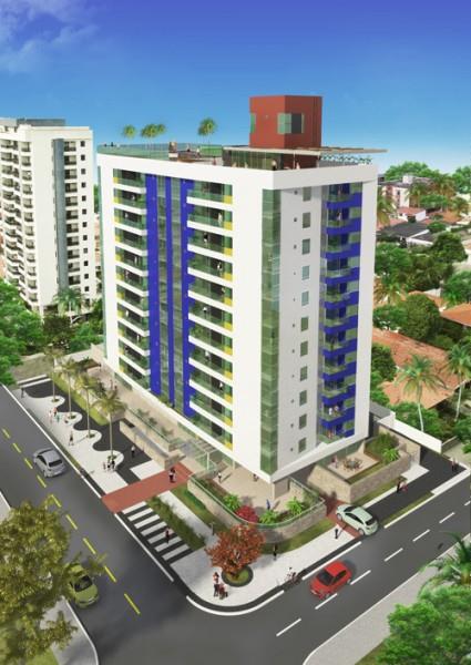 Apartamento residencial à venda, Tambaú, João Pessoa - AP2390.