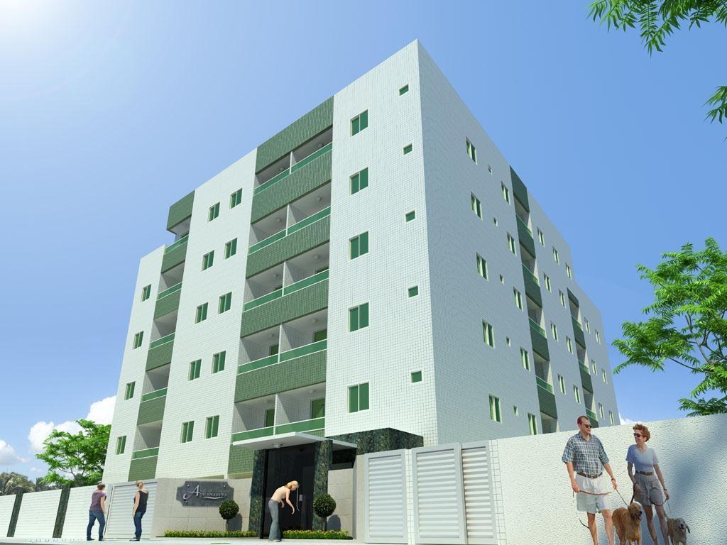 Apartamento residencial à venda, Bessa, João Pessoa - AP2045 de Invista Imóveis.'