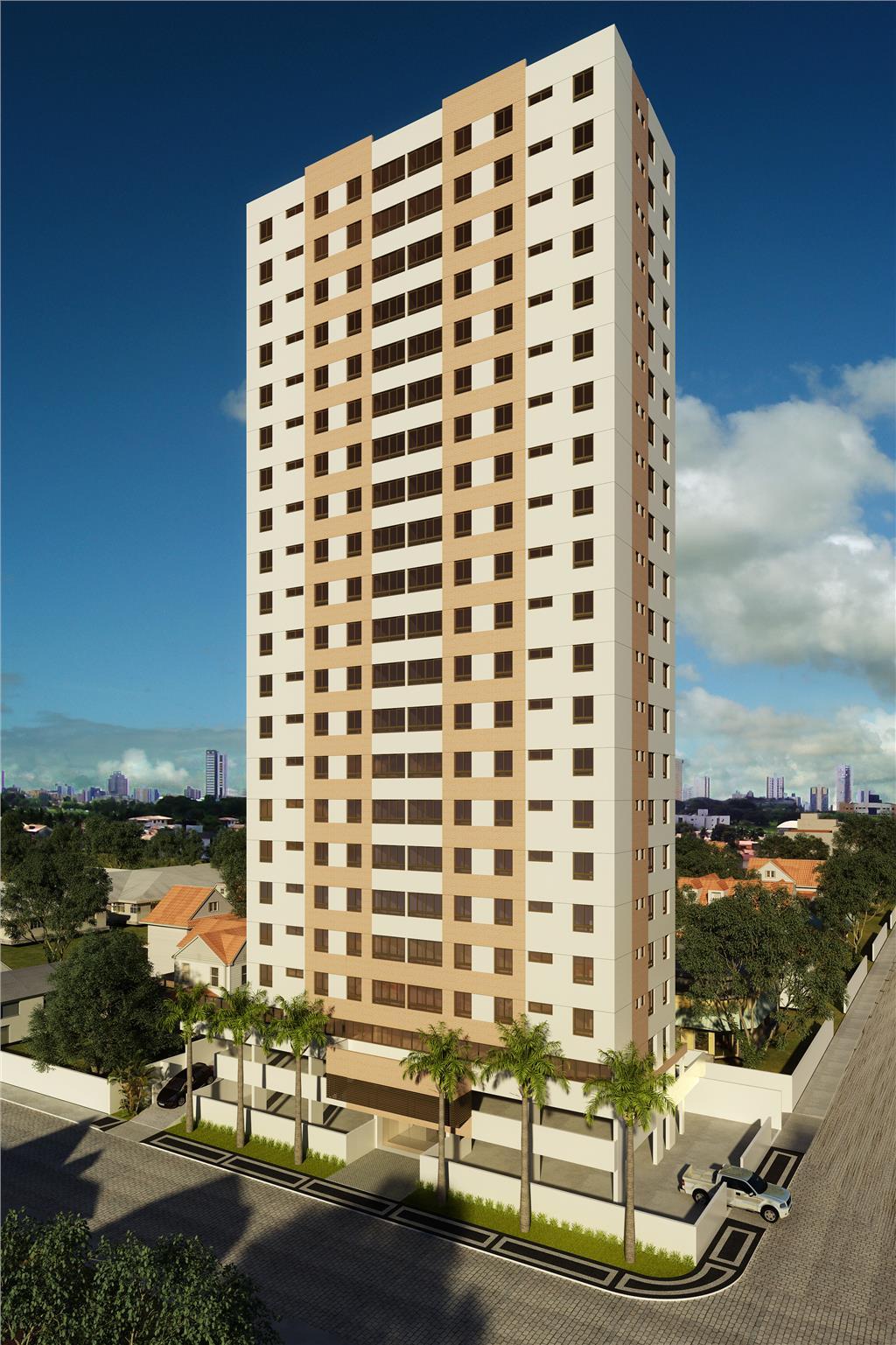 Apartamento residencial à venda, Treze de Maio, João Pessoa - AP3469.