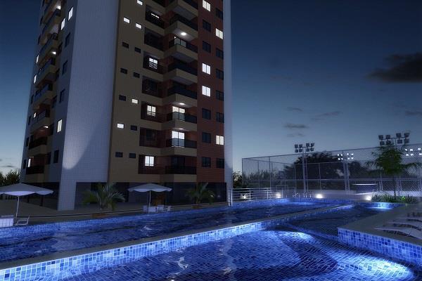Apartamento residencial à venda, Bessa, João Pessoa - AP3880.