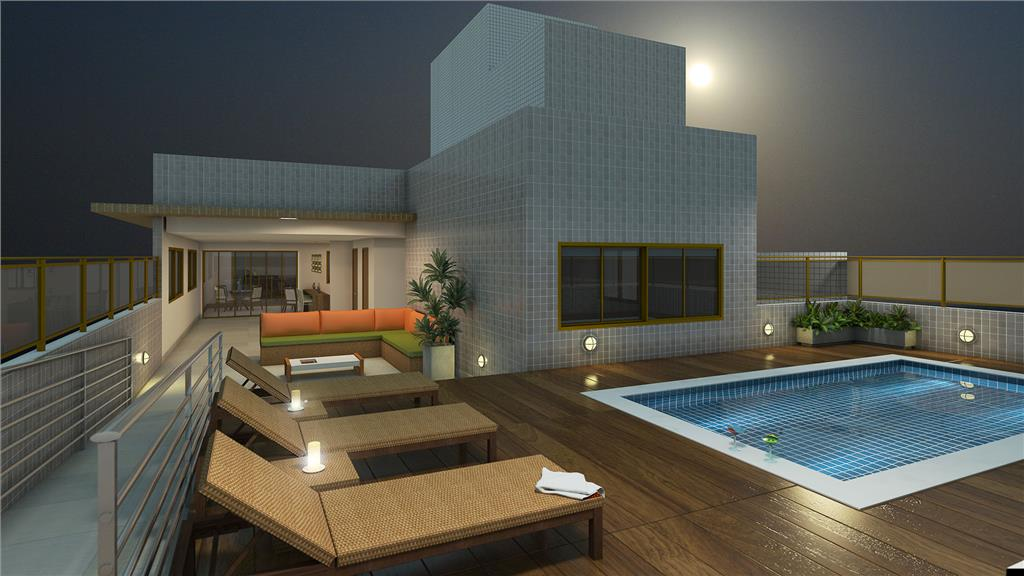 Flat residencial à venda, Tambaú, João Pessoa - FL0026.