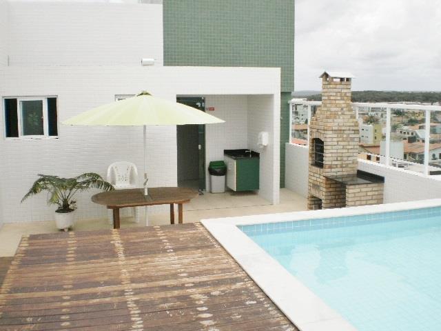 Apartamento residencial à venda, Bessa, João Pessoa - AP2377.