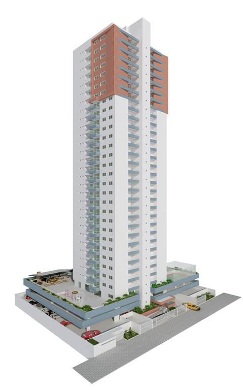 Apartamento residencial à venda, Tambaú, João Pessoa - AP2160.