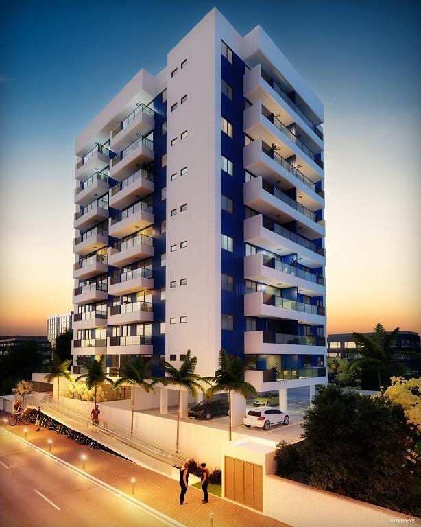 Apartamento residencial à venda, Bessa, João Pessoa - AP2677.