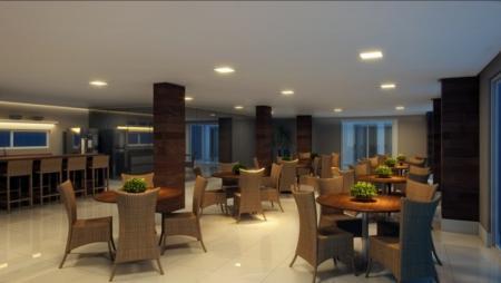 Apartamento residencial à venda, Areia Dourada, Cabedelo - AP3242.