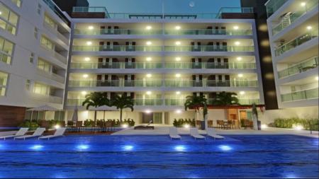Apartamento residencial à venda, Areia Dourada, Cabedelo - AP3244.