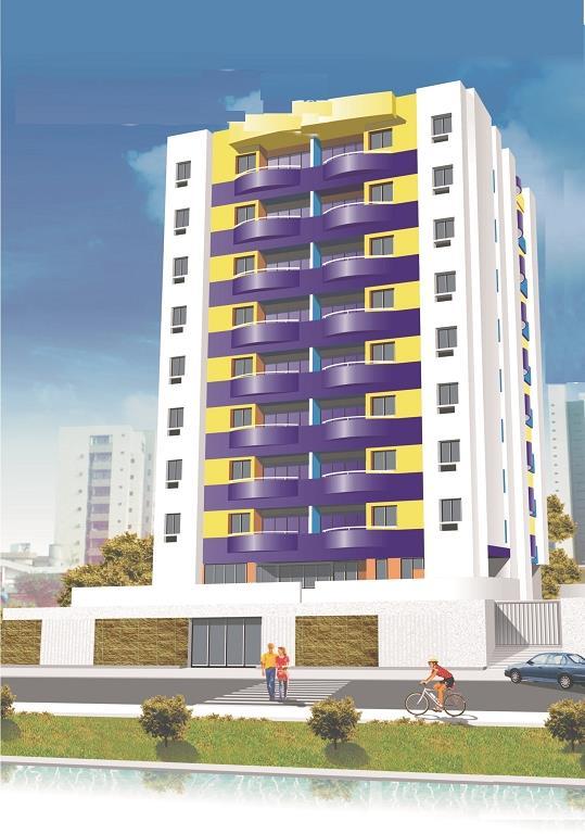 Apartamento residencial à venda, Aeroclube, João Pessoa - AP2587.