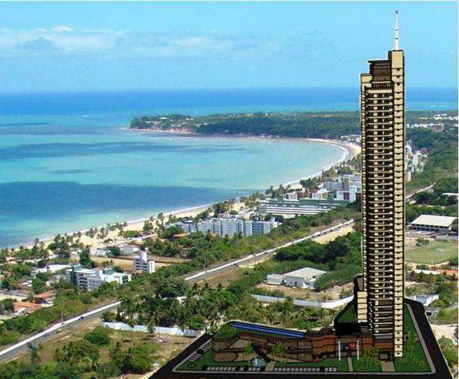 Apartamento residencial à venda, Altiplano, João Pessoa - AP3438.