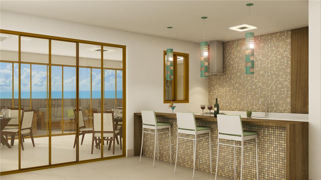 Flat residencial à venda, Tambaú, João Pessoa - FL0027.