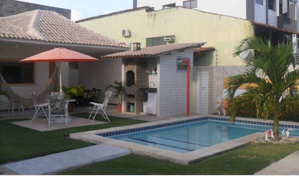Casa com 3 dormitórios à venda, 170 m² por R$ 550.000 - Bessa - João Pessoa/PB