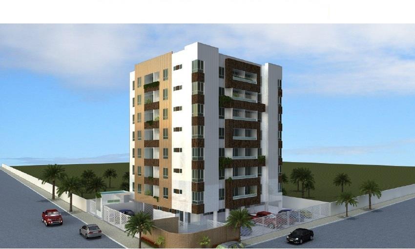 Apartamento residencial à venda, Bessa, João Pessoa - AP2251.