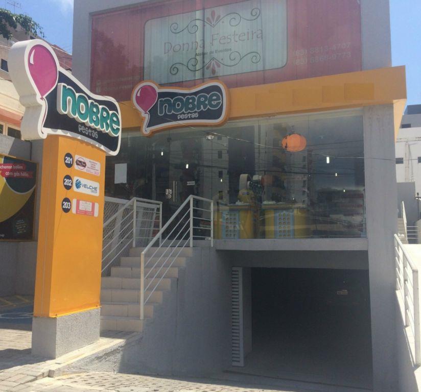 Loja comercial para locação, Manaíra, João Pessoa.