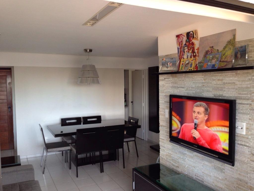 Apartamento residencial à venda, Miramar, João Pessoa - AP4455.