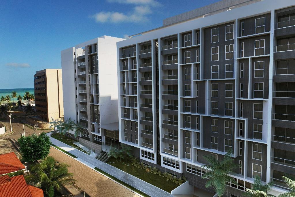 Apartamento com 3 dormitórios à venda, 129 m² por R$ 659.197,36 - Intermares - Cabedelo/PB