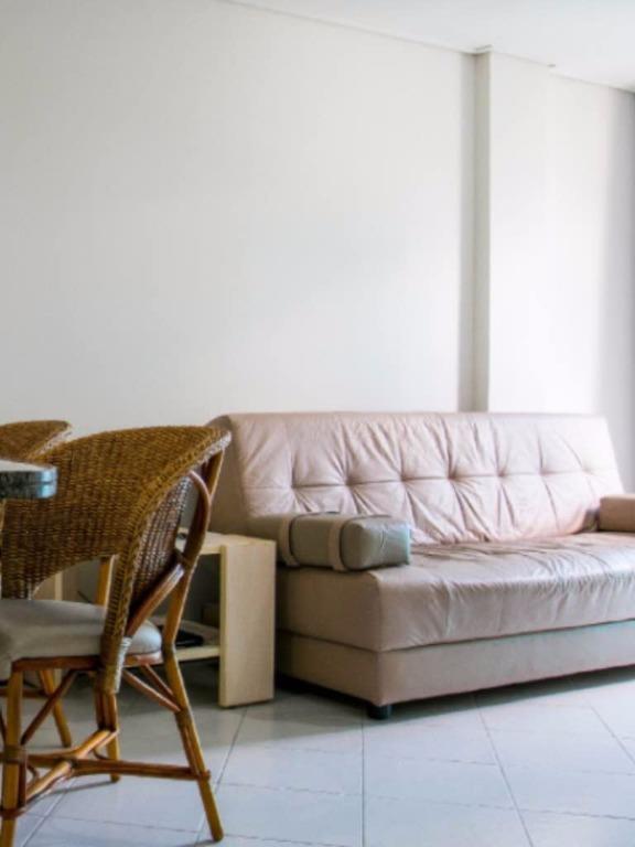 Flat residencial à venda, Cabo Branco, João Pessoa - FL0045.