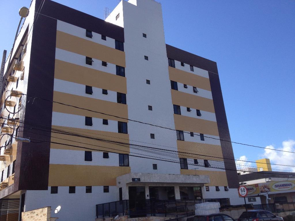 Apartamento com 2 dormitórios para alugar, 53 m² por R$ 1.100,00/ano - Jardim Oceania - João Pessoa/PB