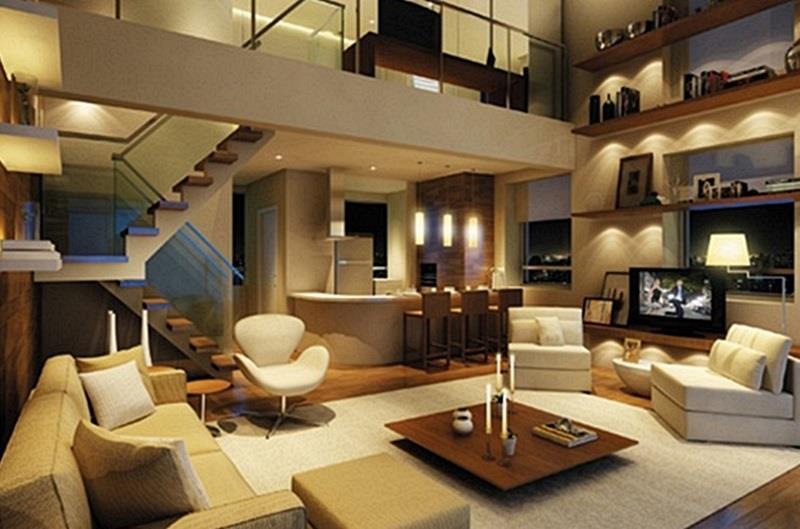 Apartamento Duplex 2 Quartos 1 Suíte no Centro de Curitiba